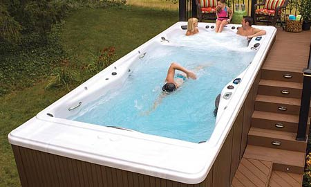 Swim Spas on Display!